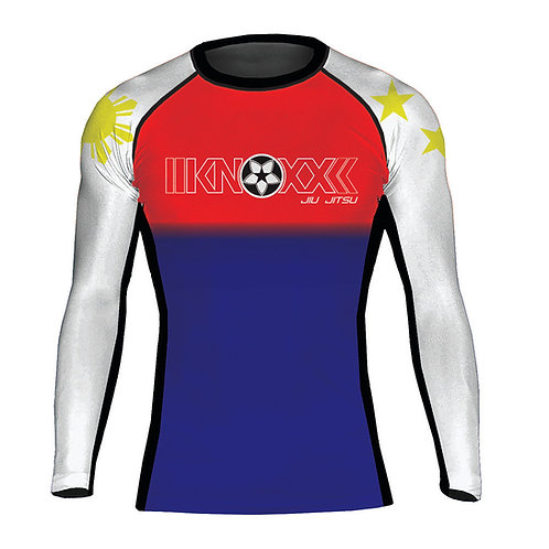 "KNOXX ""Heritage Philippines"" Youth  Rashguard-Red Top"