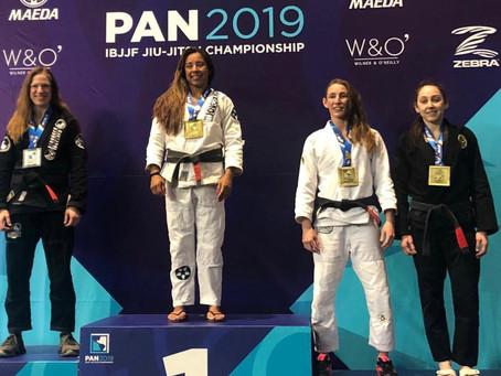 2019 Pan Ams Champion - Judy Gomes