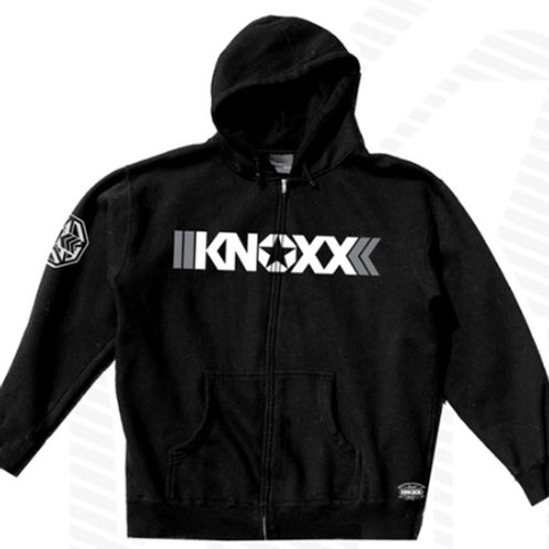 "KNOXX Youth Zipper Hoodie ""Mono"""