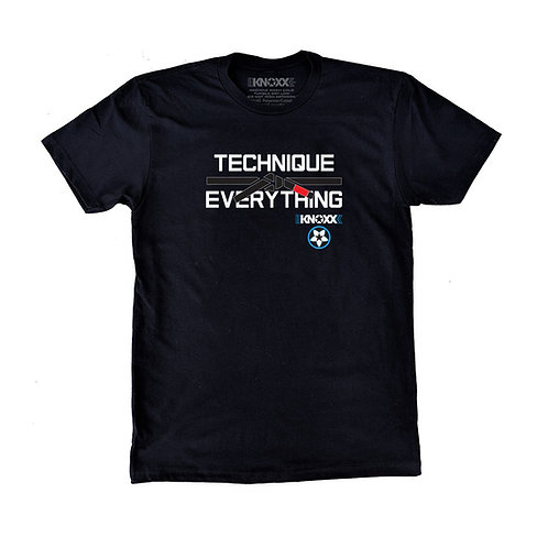 "KNOXX Shirt ""Technique Over Everything""-Black"