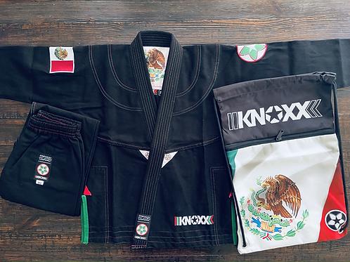 "KNOXX Youth Jiu Jitsu ""Heritage Series - Mexico"" Black Gi"