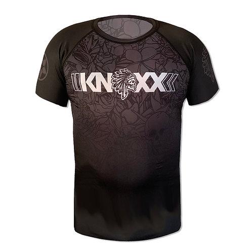 KNOXX x SAVS Brand Short Sleeve Rashguard -Black