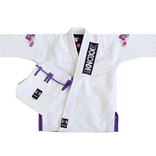 """KNOXX Jiu Jitsu """"Sakura"""" White Gi"""