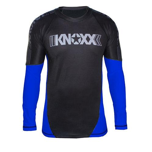 KNOXX Rank Rashguard -Blue