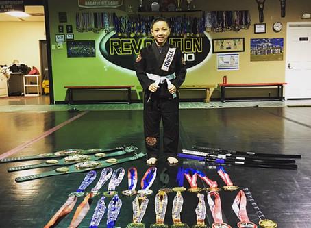 KNOXX Youth Athlete, Eli Pascual from Houston, Texas