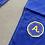 """Thumbnail: KNOXX x Adapt Brand Fitted Sizing Jiu Jitsu """"Gold Blooded""""  Gi Blue"""