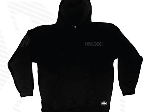 "KNOXX Pullover Hoodie ""Stealth"" Chest Logo"