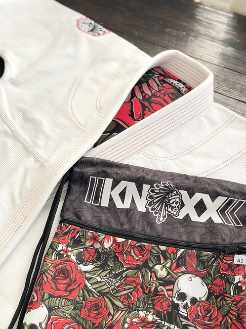 "KNOXX x SAVS Brand Youth Jiu Jitsu ""Savage"" White Gi"
