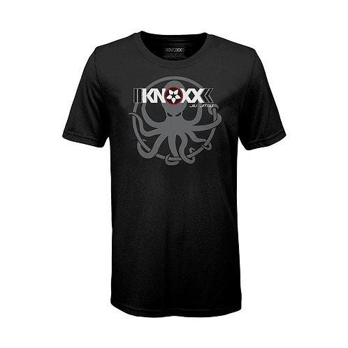 """KNOXX Youth Shirt """"OctoKNOXX"""" -Black"""