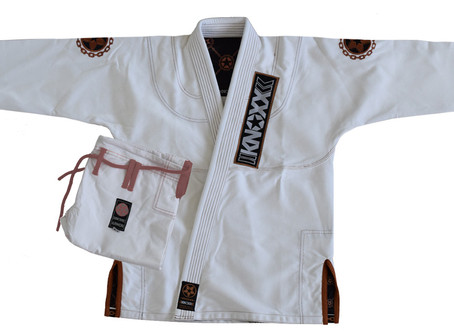 """Manchira"" Jiu Jitsu Gi is now released in WHITE"