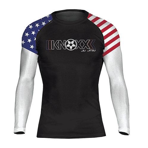 """KNOXX """"Heritage USA""""  Rashguard"""
