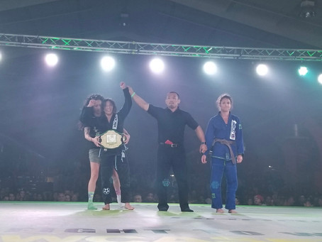 Congrats to the Fight To Win Pro Champion, Tracy Pham