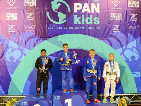 Great Job to all those that made it on the Podium at Pan Kids 2020