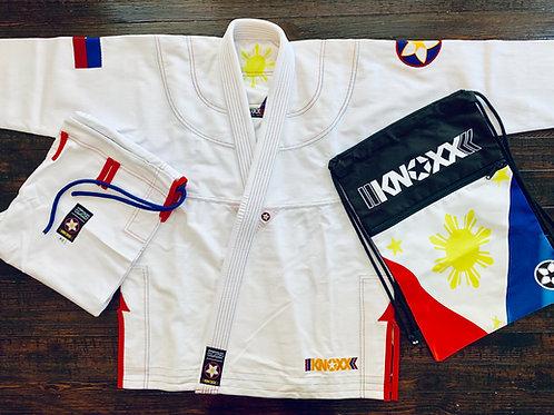 "KNOXX Jiu Jitsu ""Heritage Series- Philippines"" White Gi"