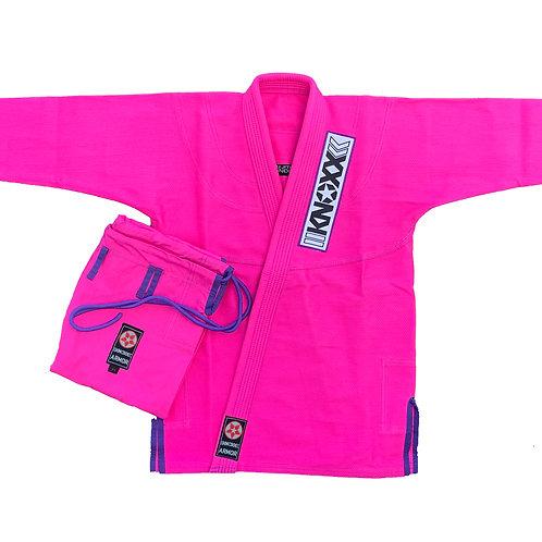 """KNOXX Women Jiu Jitsu """"Kusari V2"""" Pink/Purple Gi"""