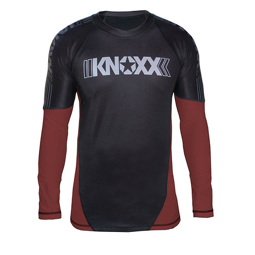 KNOXX Rank Rashguard -Brown