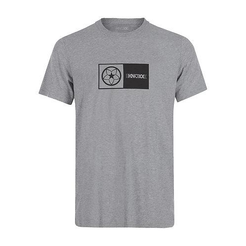 "KNOXX Shirt ""Logo Box""-Grey"