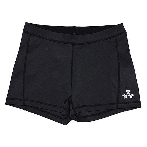 "KNOXXFIT WOMEN'S TRAINING SHORTS ""SHORTY"" Black"