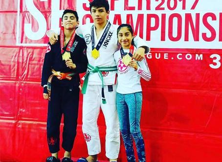 Congrats to these KNOXX athletes on getting Gold at Jiu Jitsu World League