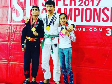 Congrats to these KNOXX athletes on getting Gold at Jiu Jitsu World League