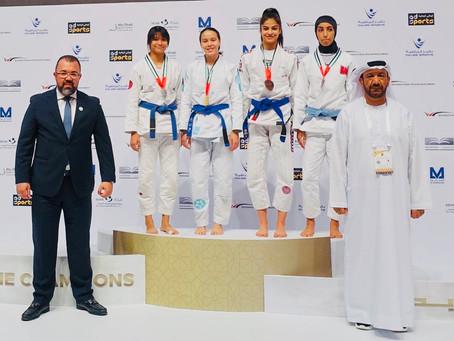 Congrats to Kinaree Adkins for winning Gold at (JJIF) Jiu Jitsu International Federation World Cham