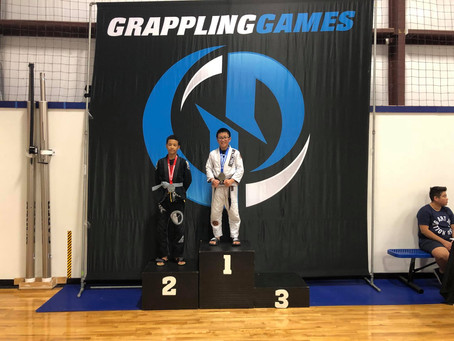 Good job, Eli Pascual at Grappling Games in Texas