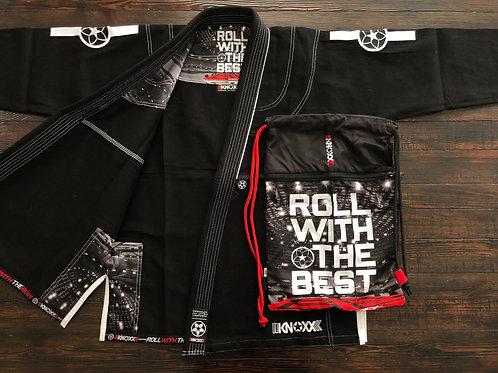 "KNOXX Youth Jiu Jitsu ""RWTB"" Black Gi"