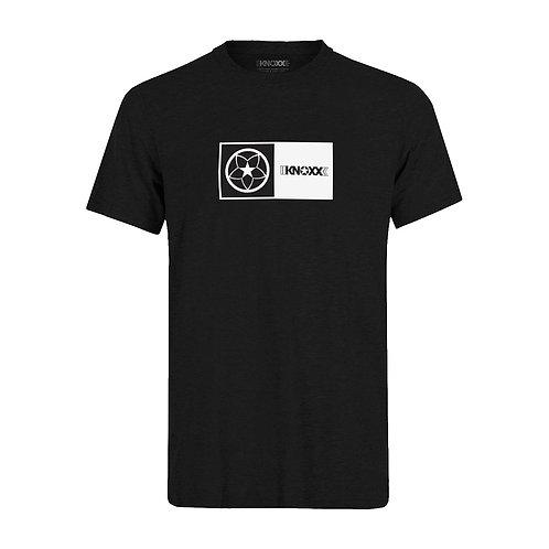 "KNOXX Shirt ""Logo Box""- Black"