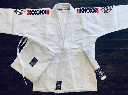 "KNOXX Adult Judo Gi - White ""Premier"""