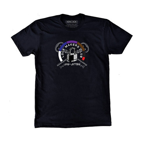 "KNOXX Shirt ""Lock Makers Club""-Black"