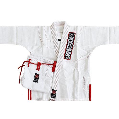 """KNOXX Jiu Jitsu """"Kusari V2"""" White Gi"""