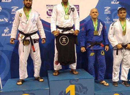Congrats to Jorge Santiago of Xcell Jiu Jitsu @xcelljiujitsu for taking Gold at Miami Spring Open Ji