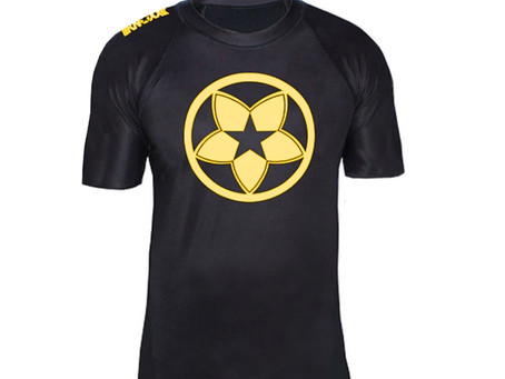 New short sleeve rashguards now available for adults and youth.