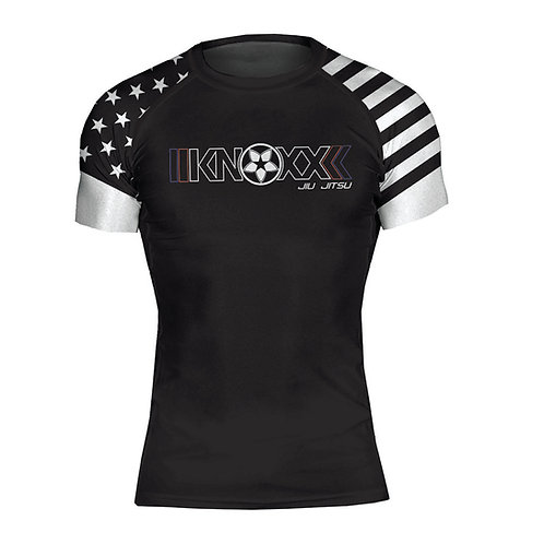 "KNOXX ""Heritage USA"" Youth Short Sleeve Rashguard"