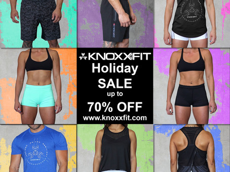 Check out Fitness Apparel from KnoxxFit during our Holiday Sale