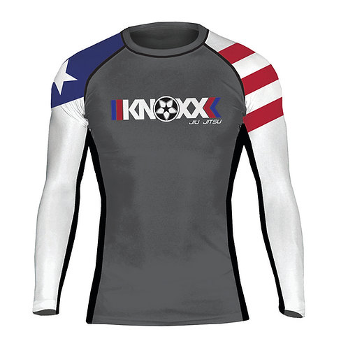 "KNOXX ""Heritage Puerto Rico"" Youth  Rashguard"