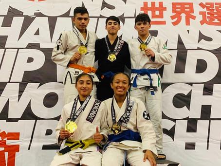 Great Work at Jiu Jitsu World League