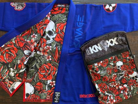 """KNOXX x SAVS Brand """"SAVAGE"""" Blue Gi"""