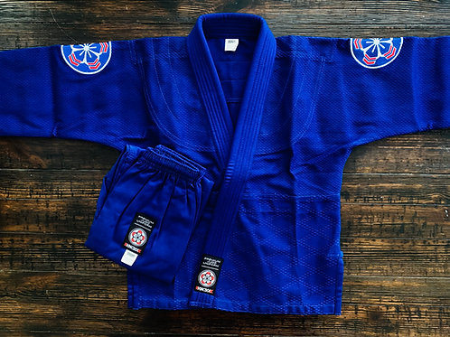 "KNOXX Youth Judo Gi - Blue ""Elite"""