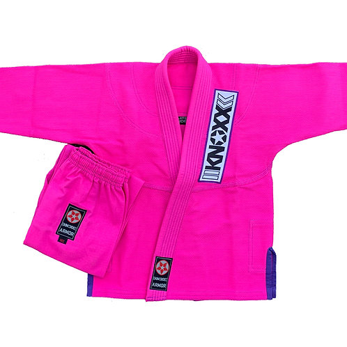 "KNOXX Youth Jiu Jitsu ""Kusari V2"" Pink/Purple Gi"