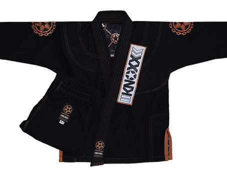 "The Limited Edition ""Manchira"" BLACK Jiu Jitsu Gi"