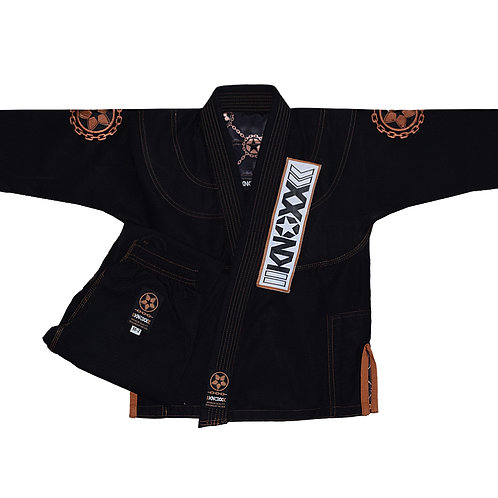 "KNOXX Youth Jiu Jitsu ""Manchira"" Black Gi"