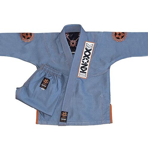 """KNOXX Youth Jiu Jitsu """"Manchira"""" Grey Gi"""