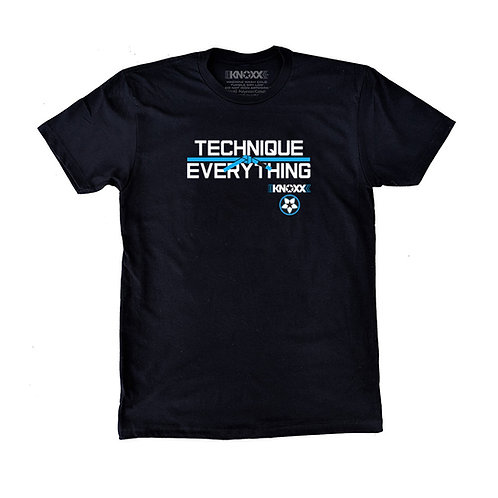"KNOXX Shirt ""Technique Over Everything""- Baby Blue"