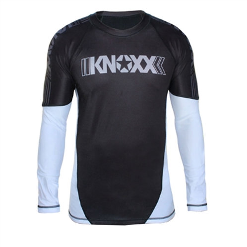 KNOXX Rank Rashguard - White