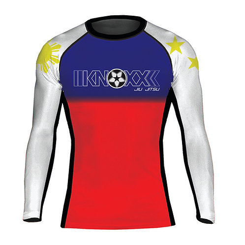 "KNOXX ""Heritage Philippines"" Youth  Rashguard-Blue Top"