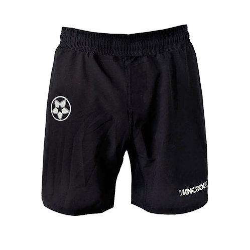 KNOXX 3 Pocket Lightweight Workout Shorts-Youth -Blk/Wht