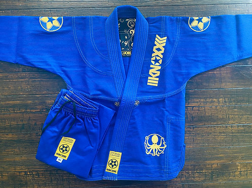 "KNOXX Youth Jiu Jitsu ""Quest For Gold- V2"" Royal  Gi"