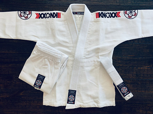 "KNOXX Youth Judo Gi - White ""Premier"""