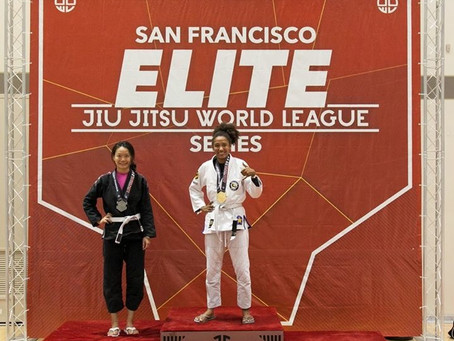 Great job to all these athletes at Jiu Jitsu World League SF Elite